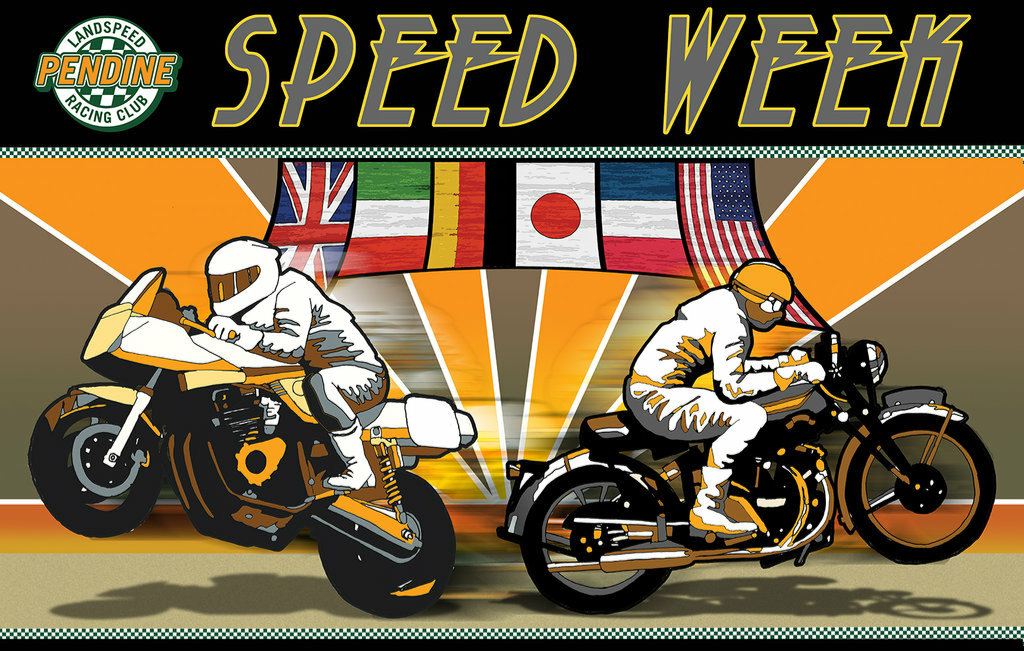 PENDINE SANDS – SPEED WEEK