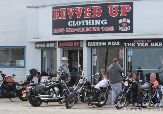 Revved Up Bikers Cafe